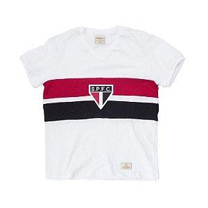 Camisa Retrô Juvenil São Paulo 1980