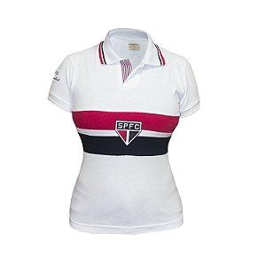 Camisa Retrô Feminina São Paulo Bimundial 92/93
