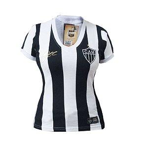 Camisa Retrô Feminina Atlético Mineiro 1983 Eder