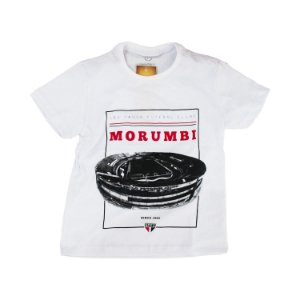 Camisa Retrô Juvenil Camisa Casual São Paulo Morumbi