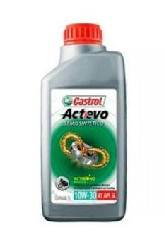 Oléo lubrificante CASTROL 10W30 para motor - 1 Litro