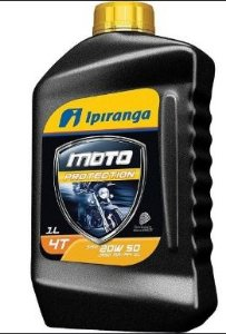 Oléo lubrificante Ipiranga 20W50 para motor