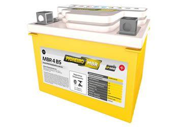 Bateria 4 amperes - Marca Pioneiro para Moto Biz 100 / Titan 125 KS