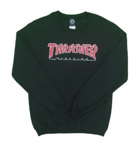 Moletom careca Thrasher