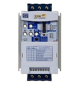 Soft Starter - 30A - 10CV/220V - 20CV/380V - 20CV/440V - Sem IHM - Com By-Pass incorporado,