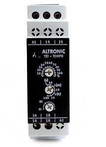 Relé Temporizador Eletrônico Multi Escala TEI-01-03 - ALTRONIC