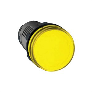Sinaleiro Lukma LK16 22MM LED 220V Amarelo 16004