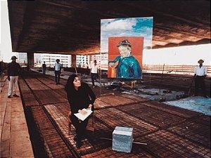 PÔSTER LINA BO BARDI NA CONSTRUÇÃO DO MASP - LEW PARRELLA