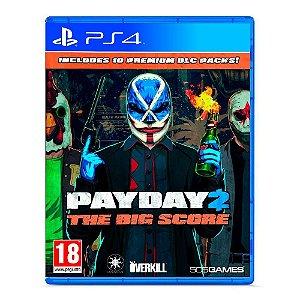 PayDay 2: The Big Score -  Seminovo