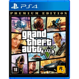Grand Theft Auto V 5 Gta 5 - PS4