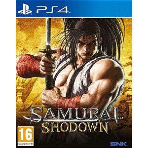 Samurai Shodown - PS4