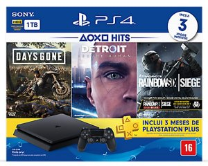 Console Playstation 4 1TB Hits Bundle Edição 5 - PS4