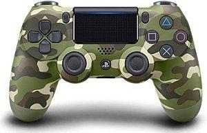 Controle DualShock PlayStation 4 - Camuflado