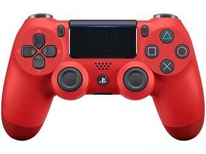 Controle Dualshock 4 - Vermelho