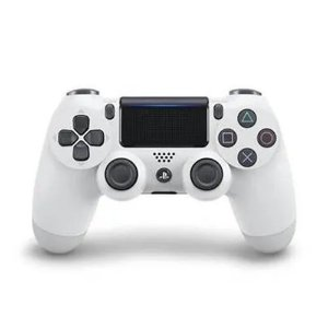Controle PS4 sem Fio Dualshock 4 Sony - Branco - PS4