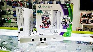 Xbox 360 - 250 GB - Destravado - Seminovo + 3 Jogos a sua escolha