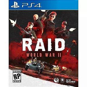 RAID World War II - PS4