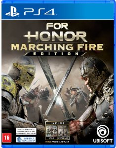 For Honor Marching Fire  - PS4(SEMI-NOVO)