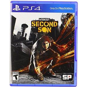 Infamous second son - PS4(SEMI-NOVO)