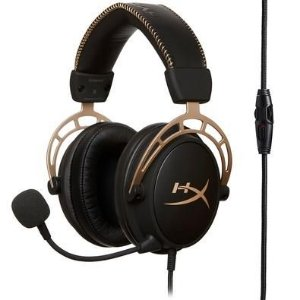 Headset hyperx cloud alpha gold - HYPERX