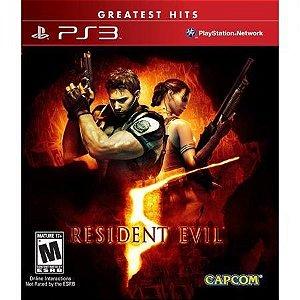Resident Evil 5 - PS3(SEMI-NOVO)