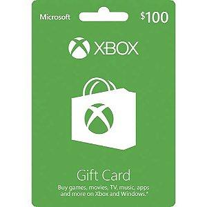 Cartão Presente Xbox Live Gold - R$ 100