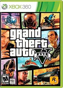 GTA V - Xbox 360  -Semi-Novo