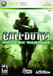 CALL OF DUTY 4 MODERN WARFARE - Xbox 360  -Semi-Novo