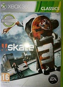 SKATE 3 - Xbox 360  -Semi-Novo