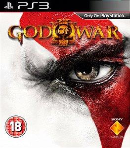 GOD OF WAR III - ps3 - Semi-Novo