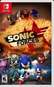 Sonic forces - SWITCH - SEMI-NOVO