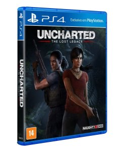 Uncharted lost legacy - PS4(SEMI-NOVO)