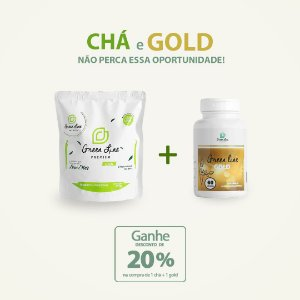 Combo - Chá + Gold