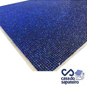 Manta Strass Micro Azul 40 x 24 cm