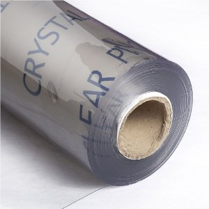 Super Plástico Pvc Cristal 0.40mm Transparente - 1m X 1.40m