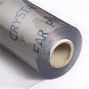 Super Plástico Pvc Cristal 0.80mm Transparente - 1m X 1.40m