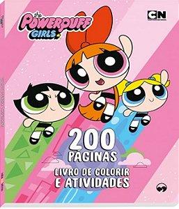 Livro De Colorir - Meninas Super Poderosas