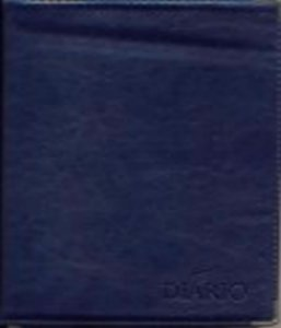 Diário Vozes Luxo 2019 - Azul-marinho