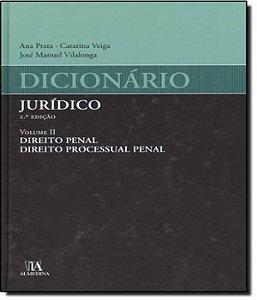 Dicionario Juridico - Vol Ii