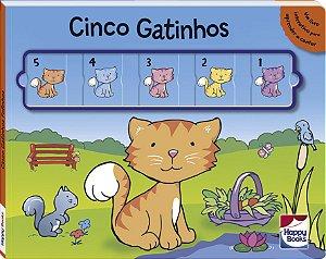 Deslize E Aprenda: Cinco Gatinhos