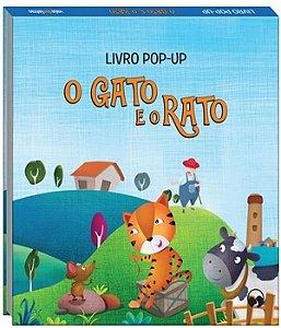 Gato E O Rato, O - Livro Pop-up