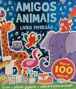 Livro De Diversao Amigos Animais