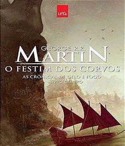 Cronicas De Gelo E Fogo, As - O Festim Dos Corvos - Ed Comemorativa - Vol 04