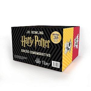 Box Harry Potter Edição Comemorativa 20 Anos - Capa Dura