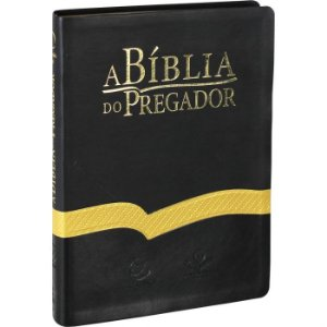 Biblia Do Pregador, A - Capa Preta Luxo