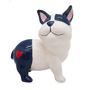 Enfeite Bulldog Coração