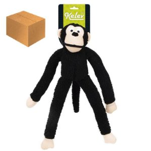 Macaco Pelúcia Preto