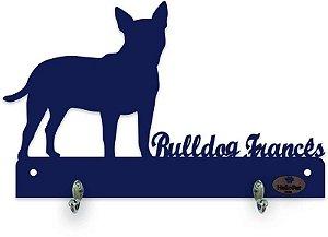 Porta Coleira Bulldog Francês