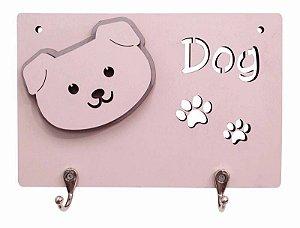 Porta Coleira Puppy Rosa