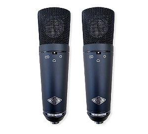 GB 1702  (Par Casado / Matched Pair) -  Microfones Condensadores (Multi Padrão Polar)